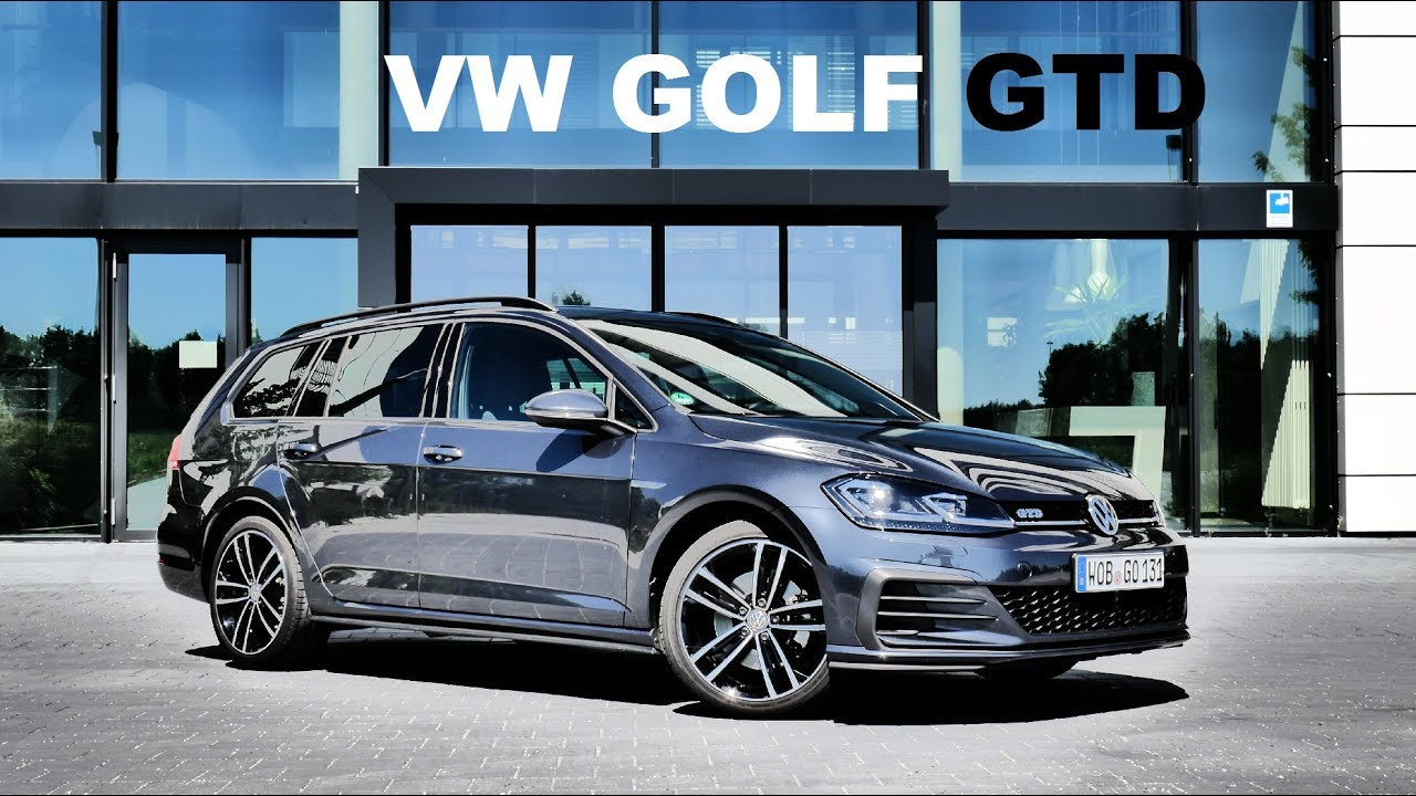 Golf Gtd Review >> 2017 VW GOLF GTD Variant Review / SWM Ridealong - YouTube