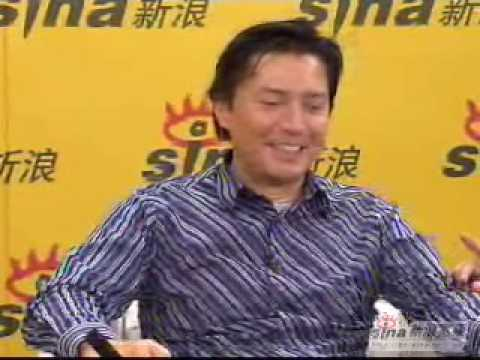 John Lone says hello to netizens in Shanghai's dialect