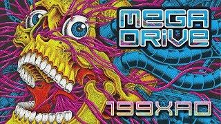 Mega Drive - 199XAD (Full Album) [Dark Synthwave / Cyberpunk]