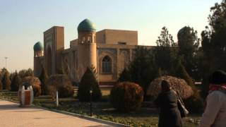 Termez(Visiting the two mausoleum of Imam Tarmizi. One revered by the Uzbekistan, the other Malaysian. Apparently there were more than 30 Imam Tarmizis., 2015-03-25T12:24:51.000Z)