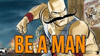 be a man what does this mean and is it a good thing titanfall gameplay commentary
