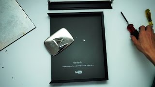 BONGKAR SILVER PLAY BUTTON!