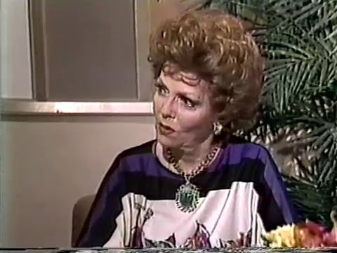 Vivian Blaine, Meredith MacRae--1983 TV Interview, AIDS Benefit