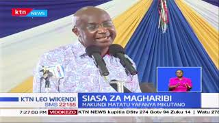 Makundi matatu yafanya mikutano, Malala akutana na vijana huku Oparanya na Wamalwa wakizuru Bungoma