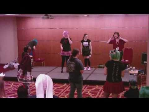 AnimeUSA 2010   How to ParaPara Workshop   Hinoi Team Megamix