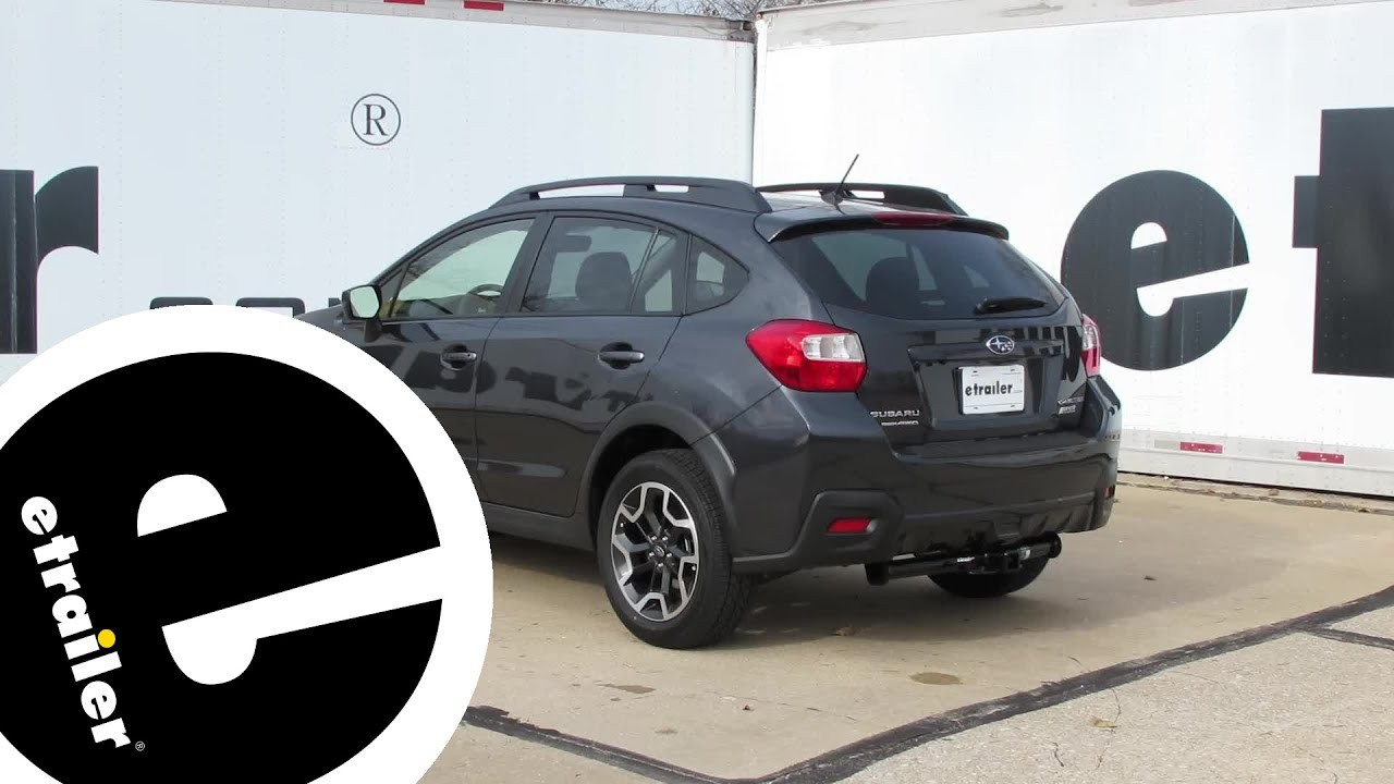 Best 2016 Subaru Crosstrek Trailer Hitch Options Etrailer