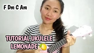 Tutorial Ukulele Lemonade - Jeremy Passion (VERSI MUDAH) #TutorialUkulele6