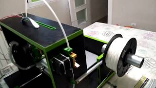 Impresora 3D plegable 100% casera