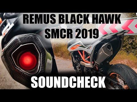 REMUS BLACK HAWK | NEW SMCR 2019: FLYBYS, NO DB-KILLER, ONBOARD SOUND | KTM 690 EXHAUST