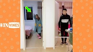 Funny videos 2019 ✦ Funny pranks try not to laugh challenge P73