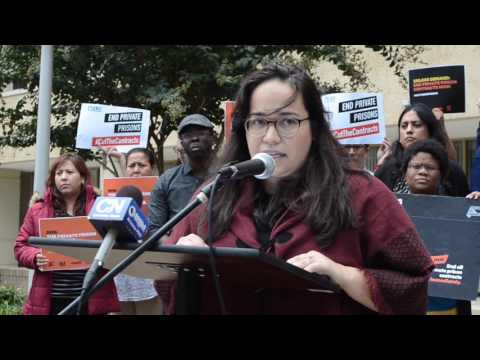 Jenny Srey Speaks Out Against Private Detention