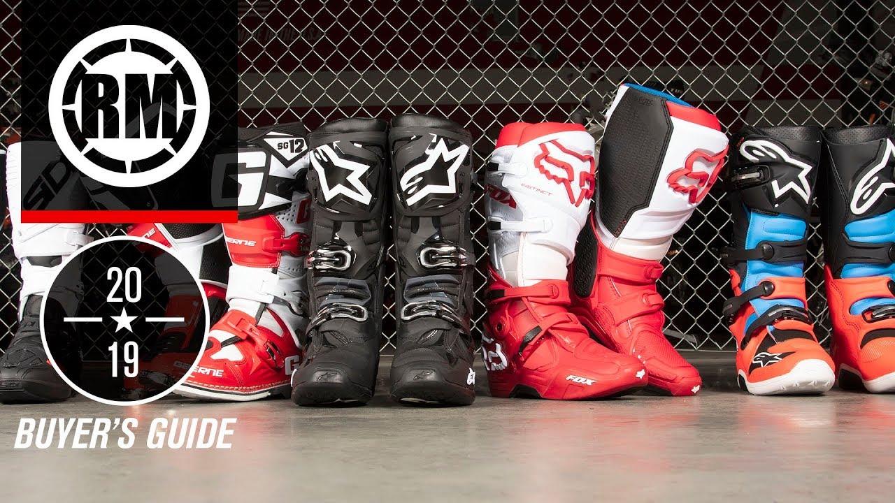 9e29460426d 2019 Motocross Boot Guide - RM Rider Exchange - The Rocky Mountain ATV/MC  Blog