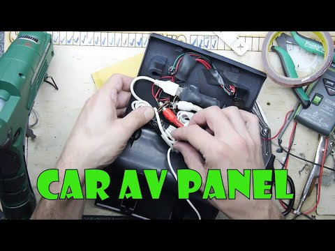 Teardown Lab - Automotive AV Panel