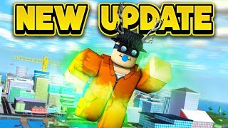 NEW SUPER POWER UPDATE! (ROBLOX Mad City)