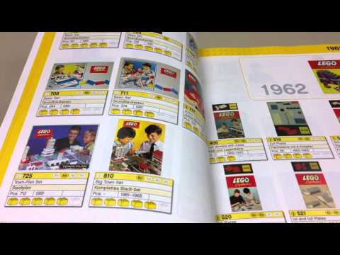LEGO Collector's Guide Book 1958-2008 Set List