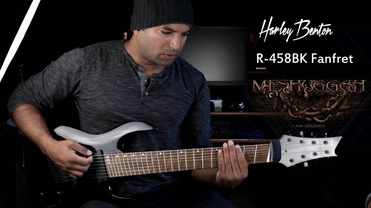 8 String guitar Harley Benton HB R458 Fanfret