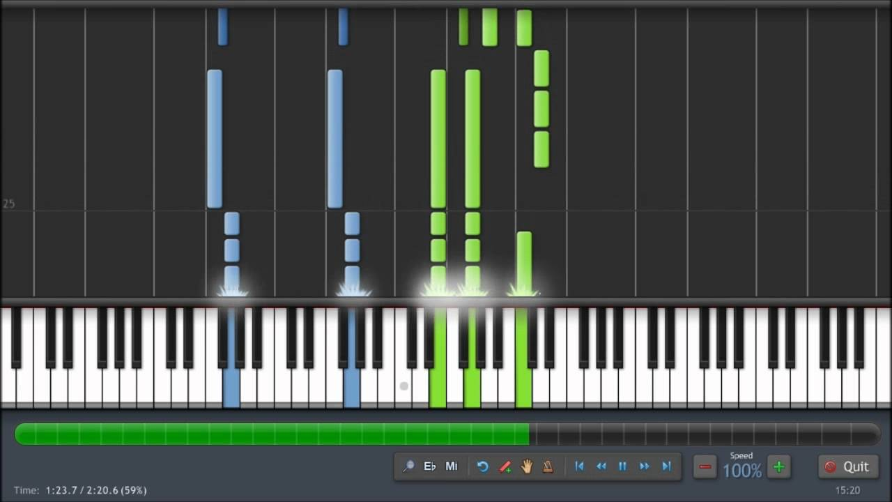 Louis armstrong what a wonderful world piano tutorial 100 louis armstrong what a wonderful world piano tutorial 100 synthesia youtube hexwebz Image collections