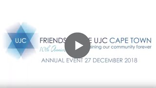 2018 Friends of the UJC Cape Town | 10 Year Anniversary Celebration