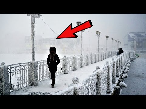 13 Coldest Places in The World