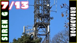 Broadmoor Hospital siren - Finding the 13 sirens.  Siren G