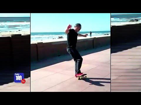 Doctor Shows Off Skateboarding Skills In Viral Videos