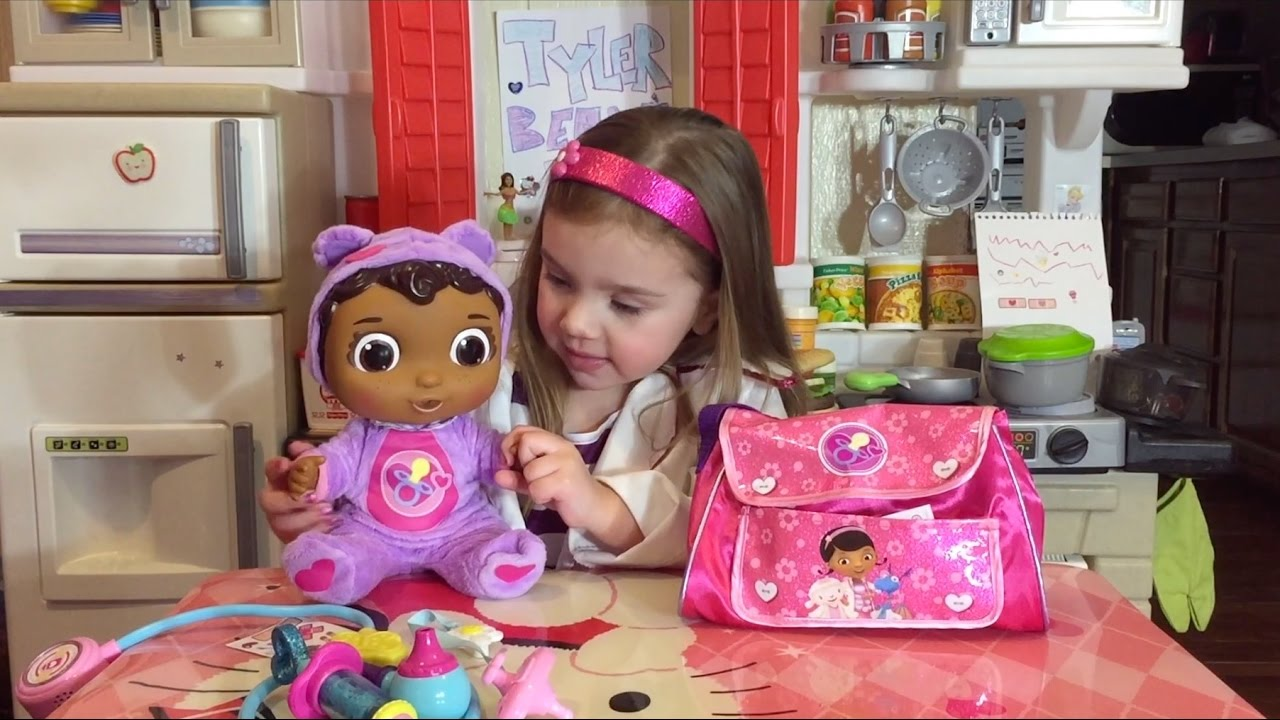 Doc Mcstuffins Get Better Baby Cece Doll Amp Diaper Bag