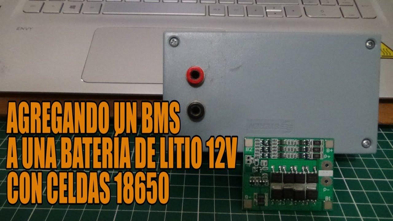 Recargando Baterías 12V de litio Caseras  con BMS  (PARTE 2)