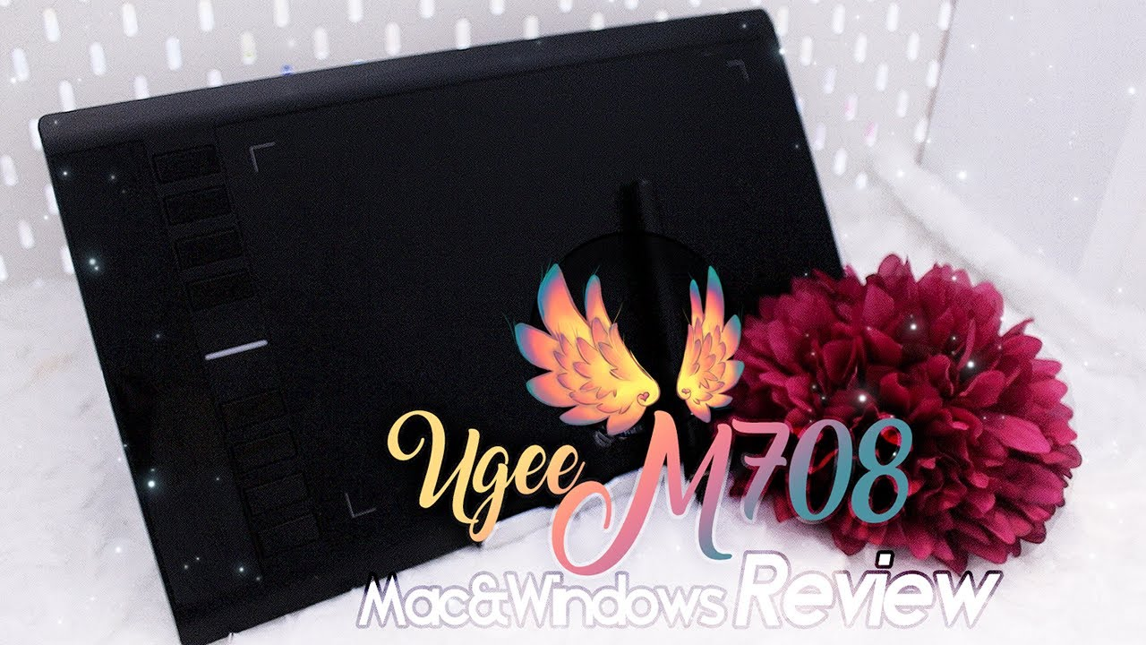 Reviewing the Popular Ugee M708 Graphics Tablet - Lets Draw