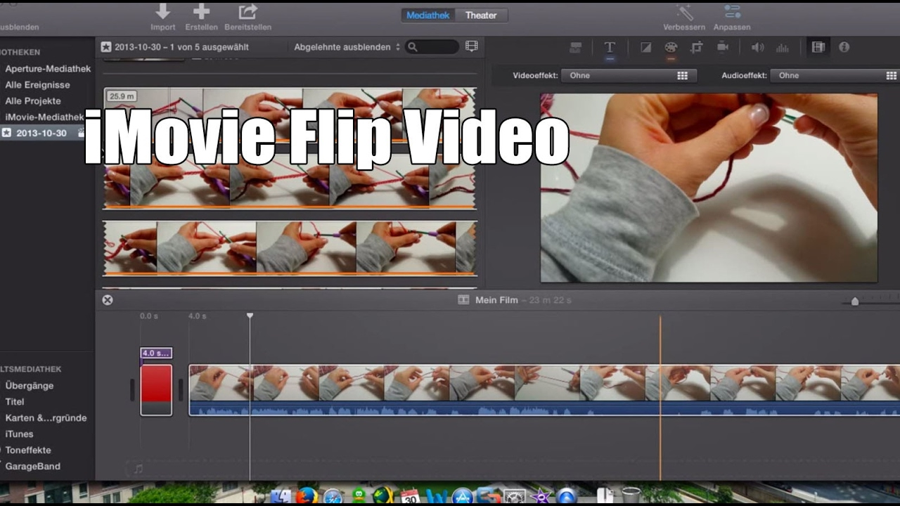 How to rotate or flip your videos with imovie youtube how to rotate or flip your videos with imovie ccuart Gallery