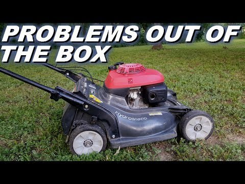 Problem with self propel wheels on Honda lawnmower 216 from factory!