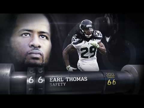 #66 Earl Thomas (S, Seahawks) | Top 100 Players of 2013 | NFL