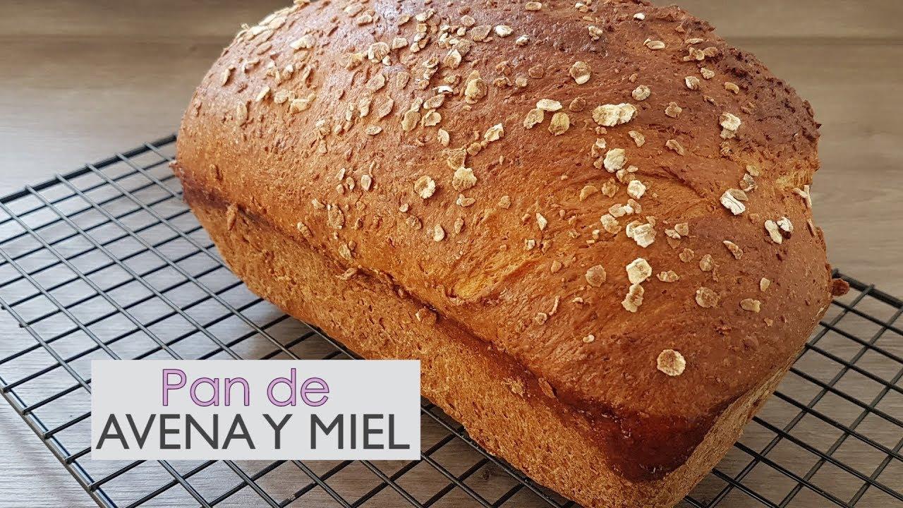 Trigo receta pan avena sin