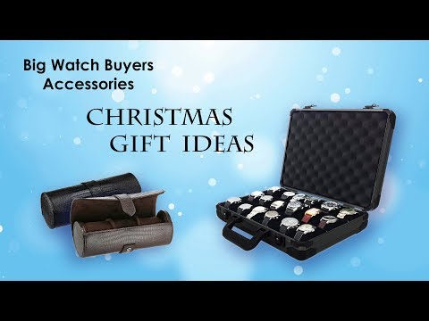 Big Watch Buyers Watch Accessories, Christmas Gift Ideas! Watches Storage Cases