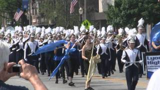 LTHS Marching Band in 65th Annual LaGrange Pet Parade - June 4, 2011