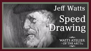 Jeffrey Watts Speed Drawing