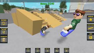 ROBLOX: TURNED PROFESSIONAL SKATEBOARDER and MADE MANEUVERS on the RAMPS of the CITY! (Skate Life)