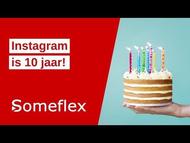updates 10 jaar instagram