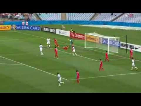 Uzbekistan beat North Korea 1-0 at the Asian Cup