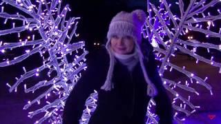 видео Новый год в Вильнюсе