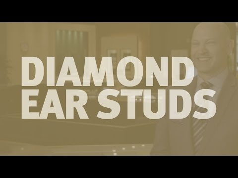 The Diamond Difference: Diamond Ear Studs
