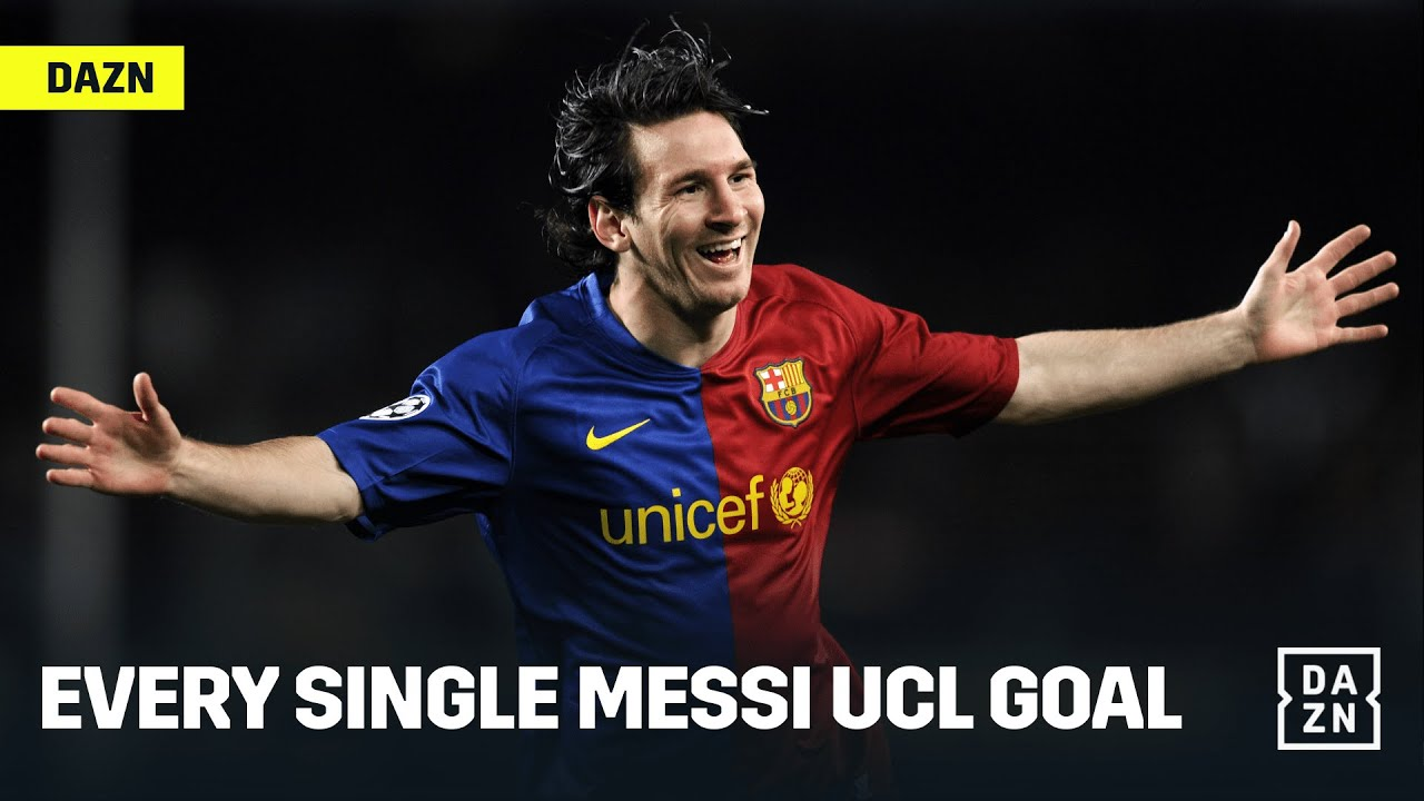 Every Single Lionel Messi Champions League Goal
