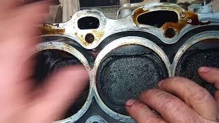 Болтанка поршней в цилиндрах 2AZ-FE