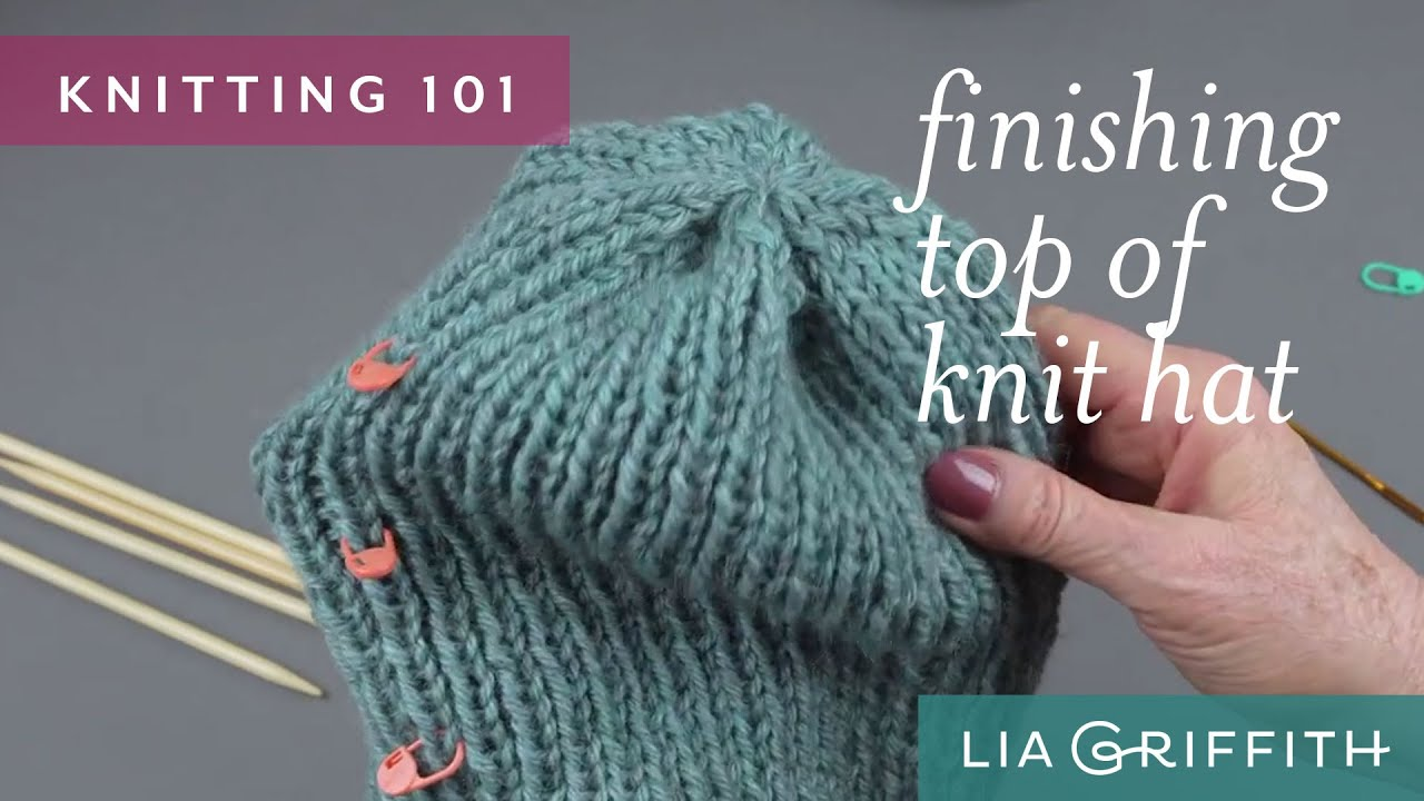 How to finish knitting