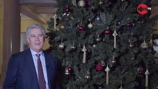 Новогоднее обращение Ректора Финансового университета М.А. Эскиндарова