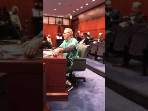 Dr. Robb's Testimony to Amend the Rabies Law