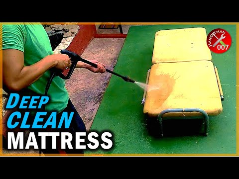 How to Kill Bed Bugs & Deep Cleaning a Mattress | Black and Decker Pressure Washer and Disinfectant