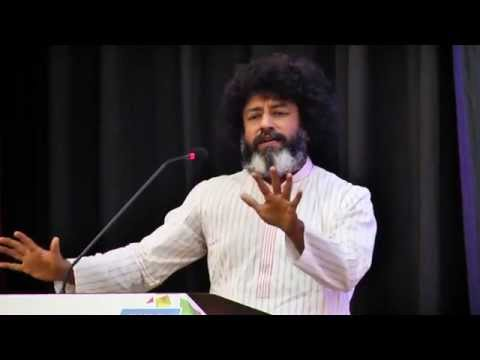 Mahatria Ra the spiritualist wakes up his audience to the 'realities' of life