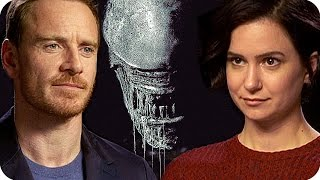 ALIEN: COVENANT Everybody is terrified by the Xenomorph (2017) Interview with the cast