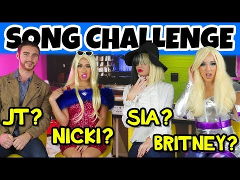 Guess the Song Lyric Challenge with Celebrity Impressions (Song Challenge 2018)