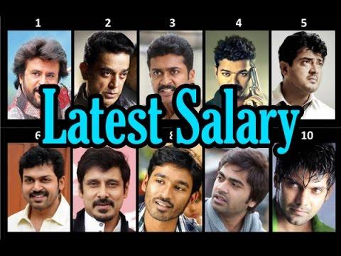 Kollywood Actors Salary Latest Update | Rajini | Kamal | Ajith | Vijay | Surya - entertamil.com